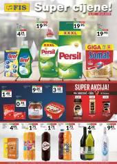 FIS AKCIJA - SUPER CIJENE - Prehrana i hemija Akcija do 29.01.2020