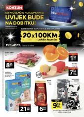 KONZUM - KATALOŠKA AKCIJA! - Akcija sniženja do 03.12.2020.