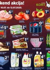 KORT Marketi - VIKEND Akcija do 12.07.2020.god.