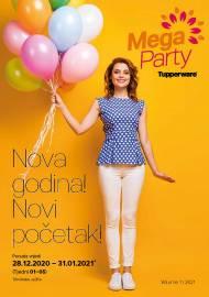 TUPPERWARE Katalog - NOVA GODINA NOVI POČETAK - AKCIJA SNIŽENJA DO 31.01.2021.