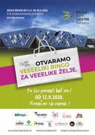 OTVARAMO VELIKI BINGO ZA VELIKE ŽELJE - KATALOG - Akcija do 30.09.2020.