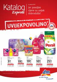 dm EXPRESS Katalog - Akcija do 19.01.2021.