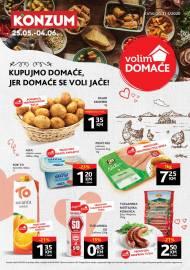 KONZUM KATALOG - KUPUJMO DOMAĆE JER DOMAČE SE VOLI JAČE - AKCIJA SNIŽENJA DO 04.06.2020..