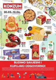 KONZUM - Redovni katalog 30.03.2020. - 12.04.2020.