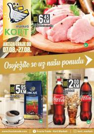 KORT Marketi - KATALOG - Akcija do 27.08.2020.god.