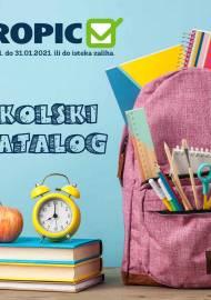 TROPIC - ŠKOLSKI KATALOG - Akcija sniženja do 31.01.2021. godine