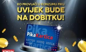 Konzum i PikaKartica nagradili najsretnije kupce