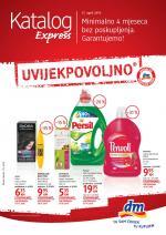 dm Katalozi -Express Akcija do 30.04.2019. godine