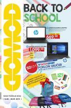 DOMOD - Akcija BACK TO SCHOOL do 08.09.2019