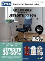 Jysk ponuda - JYSK Katalog - Super akcija do 31.10.2018.