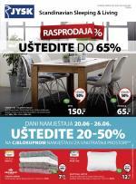Jysk ponuda - JYSK Katalog - Super akcija od 20.06. do 03.07.2019.