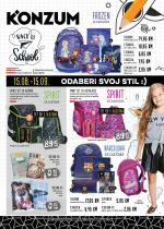 KONZUM - Katalog - BACK TO SCHOOL - 15.08.- 15.09.2019.