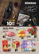 KONZUM - Redovni katalog 09.12.-15.12.2019.