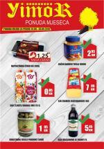 YIMOR i MEGA DISKONT - PONUDA MJESECA - PREHRANA  - Akcija do 30.09.2019